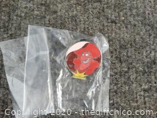 Captain Hook Disney Pin 1 of 5