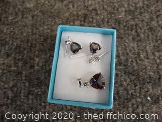 BLC Earring, Necklace Charm