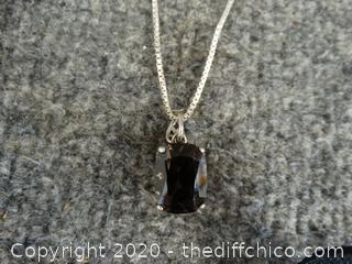925 Silver Chain With Charm