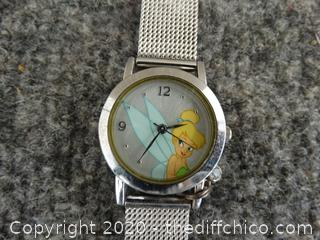 Tinkerbell Disney Watch