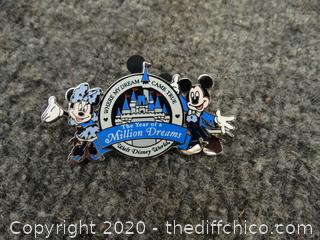 Mickey & Minnie  Million Dreams Disney Pin