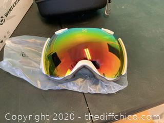 Winterial Snowboard/Ski Goggles - White (J13)