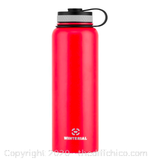 Winterial 40oz Stainless Steel Water Bottle - Red (J21)