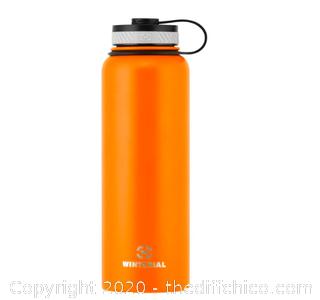 Winterial 40oz Stainless Steel Water Bottle - Orange (J24)