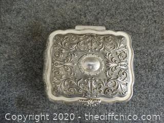 Velvet Lined Jewelry Box