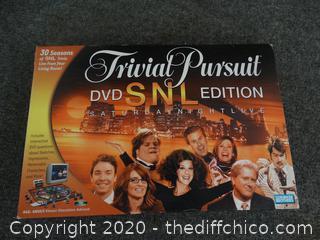 Trivial Pursuit DVD SNL Edition Game