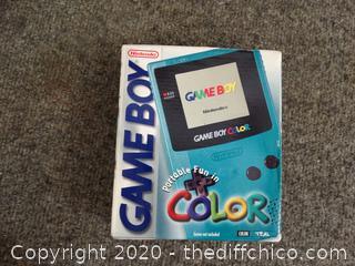 NIB Nintendo Hand Held  Game Boy