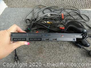 PS2 With Controllers & Accessories Powers on