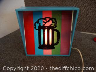 Light up Root Beer Sign
