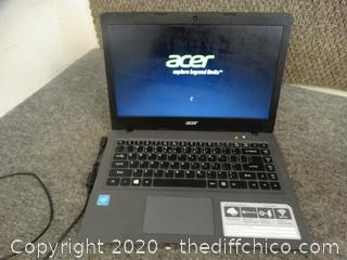 Acer Laptop Password Protected