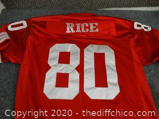 1996 San Francisco Jerry Rice Jersey