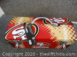 NEW With Tags SF 49ERS Tool Box