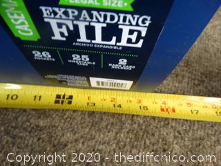 Expanding File 26 Pocket