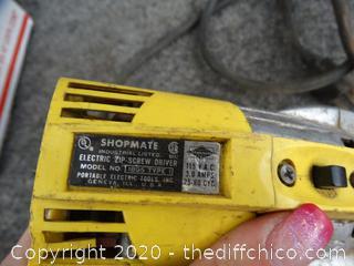 Working Shopmate Industrial Electric Zip Screwdriver