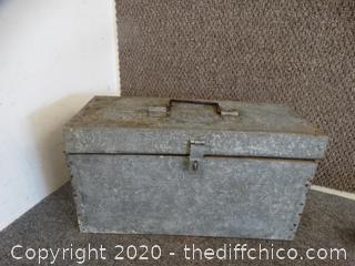 Locking Metal Tool BOX
