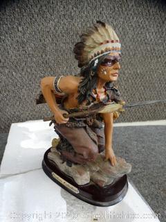 Victoria Collection Native American Statue