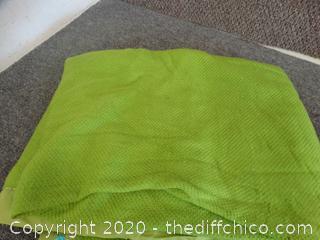 Sears Green Blanket