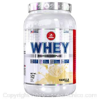 NEW SEALED 2.2LBS MIDWAY LABS WHEY PROTEIN COMPLEX EXP 04/21