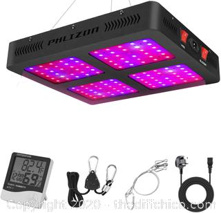 Phlizon $150 1200W Double Switch Series Plant LED Grow Light for Indoor Plants Greenhouse Lamp