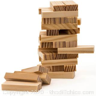 *NEW* Mini 6in Wooden Tower Game