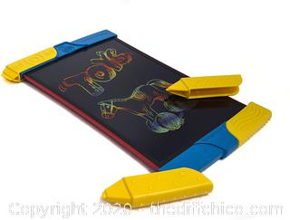 *NEW* Boogie Board Scribble and Play Color LCD Writing Tablet + Stylus Smart Paper for Drawing eWriter Ages 4+