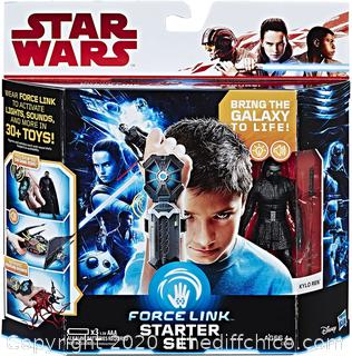 *NEW* Star Wars Force Link Starter Set including Force Link
