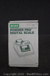 Working RCBS Powder Pro Digital Scale