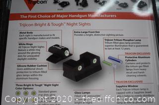 NIB Bright and Tough Sights