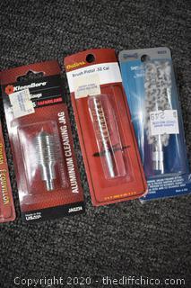 8 NIB Gun Cleaning Accessories