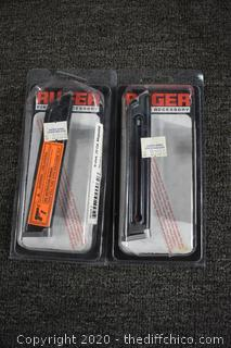 2 Ruger .22 Cal Magazine