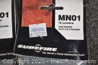 2 NIB Lamp Assembly