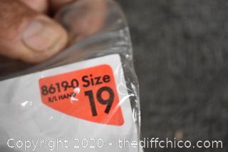 NIB Uncle Mike's Law Enforcement Super Belt Slide Holster-size 19