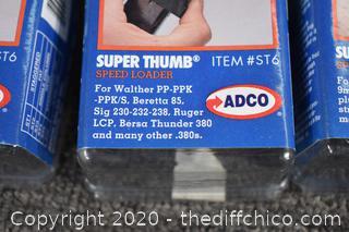 3 NIB Super Thumb Speed Loader