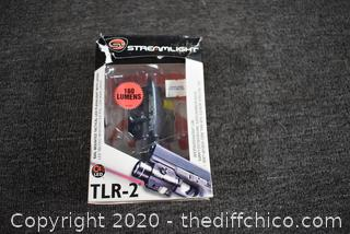 NIB Working Streamlight TLR-2  Laser Flashlight