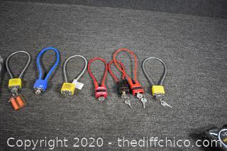 8 Gun Locks