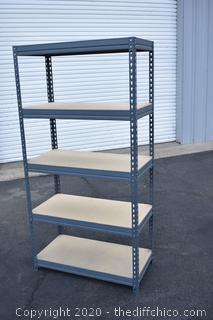 Rack w/5 Shelves