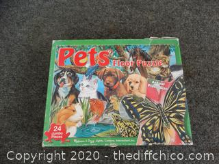 Pets Floor Puzzle