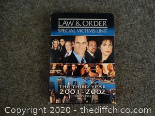 Law And Order SVU 3RD Season