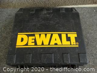 DeWalt 18v Drill Untested
