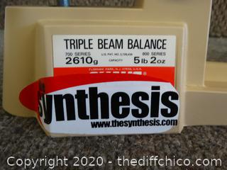 Tripple Beam Balance Scale