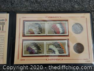 Heritage Of The American West Stamps