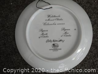 Signed Plate