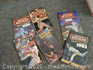 1984 Baseball HandBooks