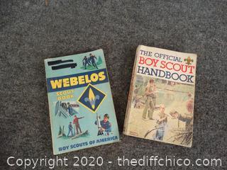 Boy Scout Book & Webelos Book