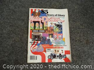 1903- 1988 Harley Davidson Magazine