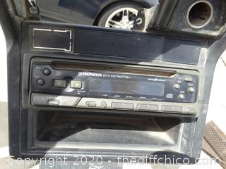Pioneer Cd Player Untested