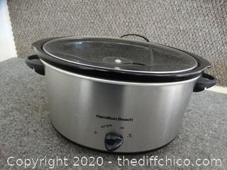 Hamilton Beach Crock Pot wks