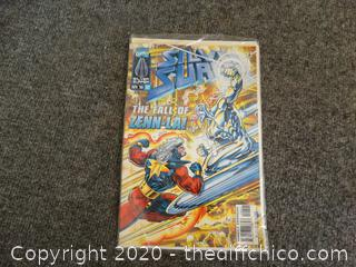 Silver Surfer 1996 #122 Unopened Comic Book