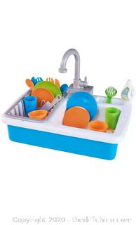 Spark Create Imagine Kitchen Sink Water Working Sink 20 Pieces Play Fun