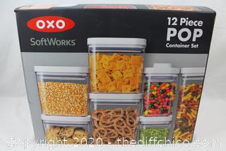 OXO SoftWorks 12 Piece POP Containers